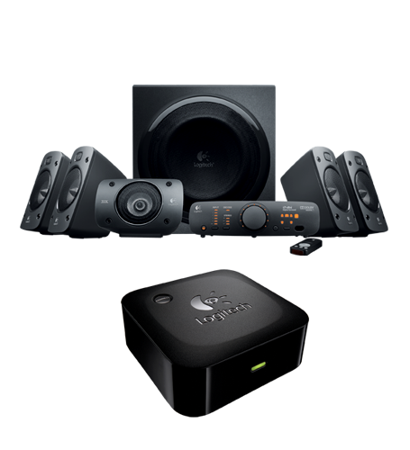 Speaker System Z906 & Bluetooth Wireless Adapter
