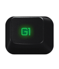 Long-life night-vision green LED backlighting