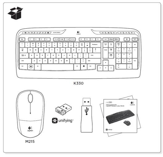 logitech wireless keyboard k330 manual