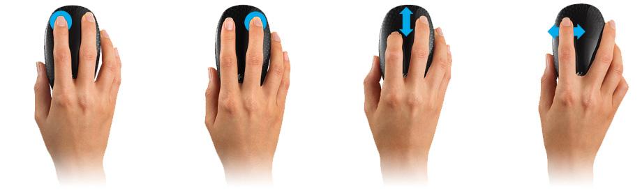 Logitech® Touch Mouse M600