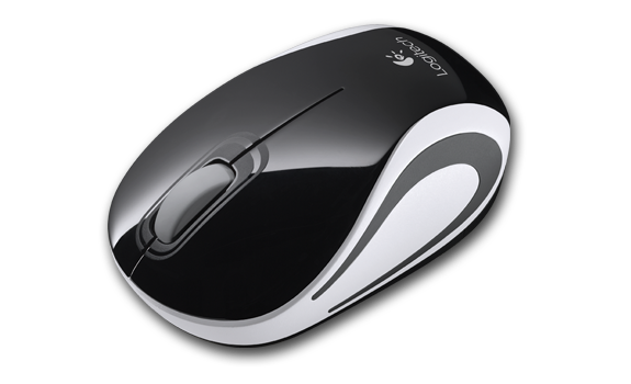 Wireless Mini Mouse M187 Black Gallery 2