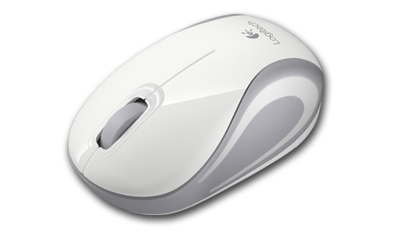 Wireless Mini Mouse M187 White Gallery 15
