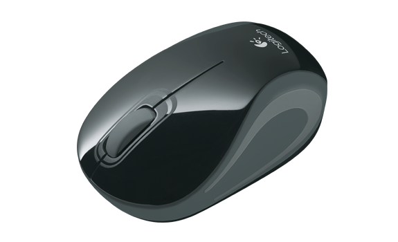 Wireless Mini Mouse M187 Black Dark Grey AMR Gallery 3