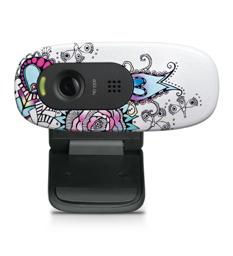 HD Webcam C270 Floral Foray Glamour Image LG