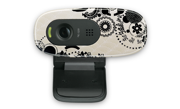 HD Webcam C270 Ink Gears Glamour Image Gallery 1