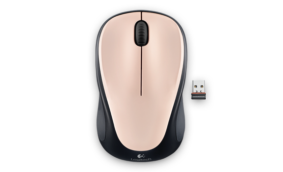 Wireless Mouse M235 Pink Ivory Gallery 1