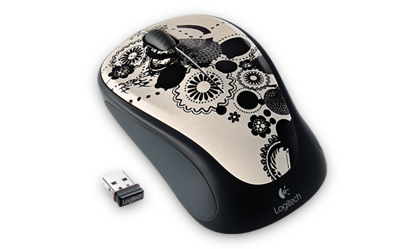 Wireless Mouse M235 Ink Gears Gallery Image 2