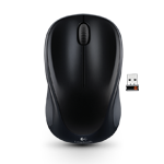 Wireless Mouse M317 Black Glamour Image SM