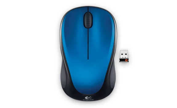 Wireless Mouse M317 Steel Blue Gallery Image