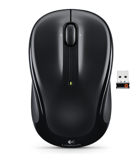 Wireless Mouse M325 Black Glamour Image LG