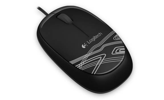 Logitech Mouse M105 Black Gallery 3