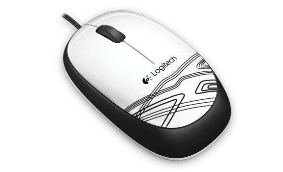 Logitech Mouse M105 White Gallery 3