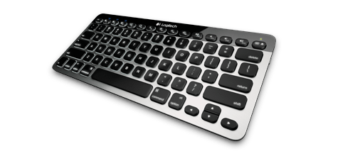 Bluetooth Keyboard K811 top