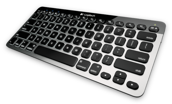 Logitech Bluetooth Easy-Switch Keyboard K811 - Klávesnice pro iPad, iPhone, Mac a Androidy (Video)