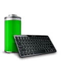 K810 keyboard and battery icon