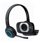 HD Webcam C615 & Logitech Wireless Headset H600