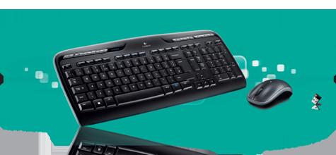 how to connect logitech k330 wireless keyboard