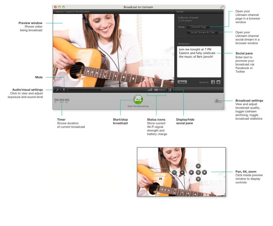 Ustream for mac