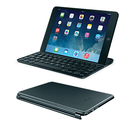 Ultrathin Keyboard Cover for iPad mini - Logitech