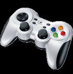 F710 Gamepad wireless - Nero Progettato per chi gioca al PC e cerca un controller avanzato in stile console.