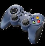 F310 Gamepad - Nero Progettato per chi gioca al PC e cerca un controller avanzato in stile console.