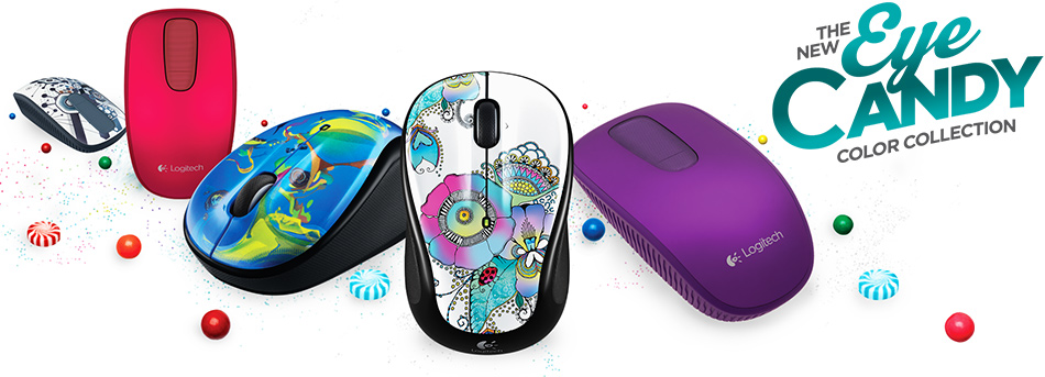 Eye Candy Logitech Color Collection