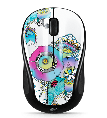 Wireless Mouse M325 CC lady on lily
