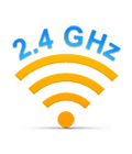 Advanced 2.4 GHz wireless icon