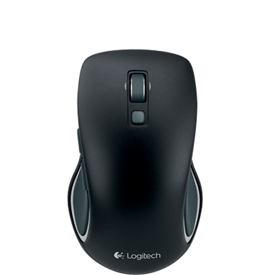 Wireless Mouse M560, black, top view