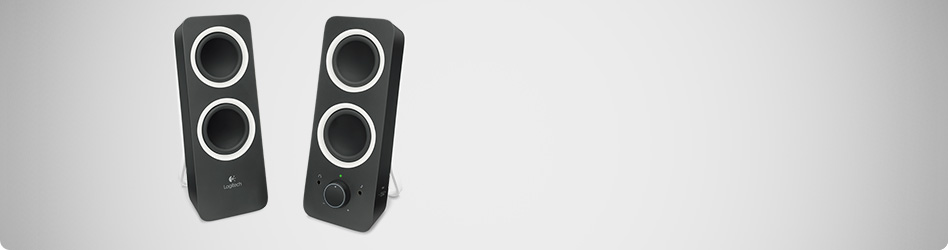 Logitech Multimedia Speakers Z200 Wide banner