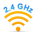Advanced 2.4GHz technology
