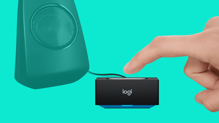 Logitech Bluetooth Audio Receiver for Wireless Streaming