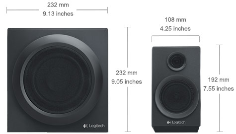 Z333 Speaker system with subwoofer
