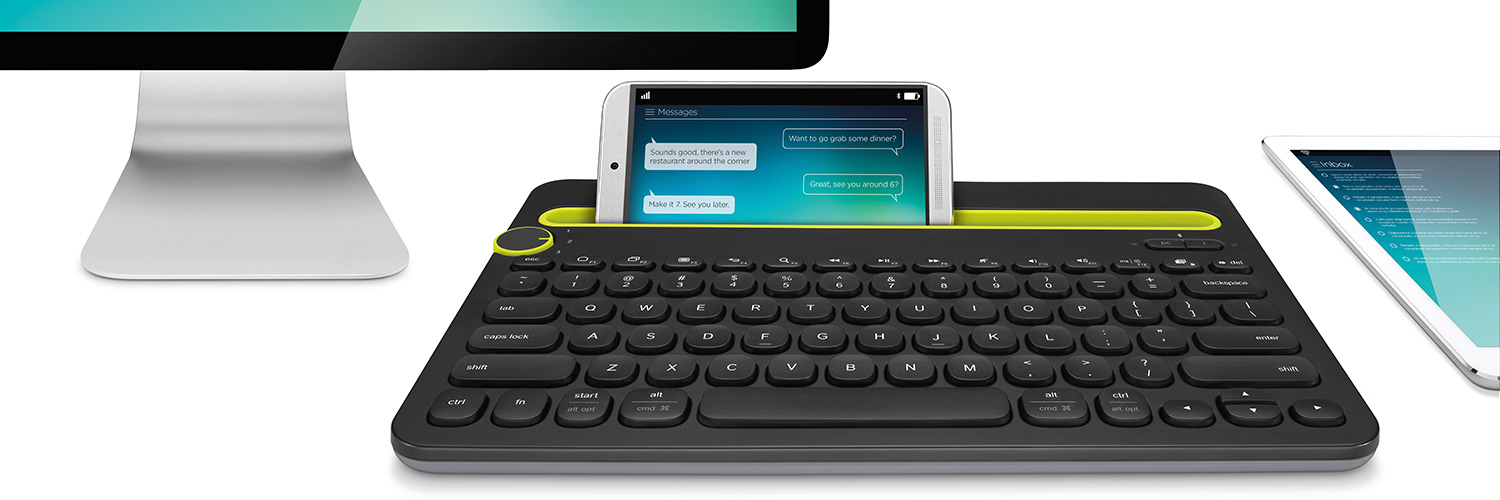 K480 with phone, monitor and tablet