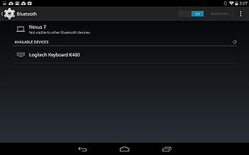 Voitko kytkeä näppäimistön Android Tablet