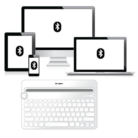 Logitech Bluetooth® Multi-Device Keyboard K480 Immersion Guide