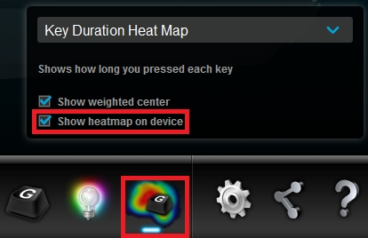 LGS Key Duration Heat Map