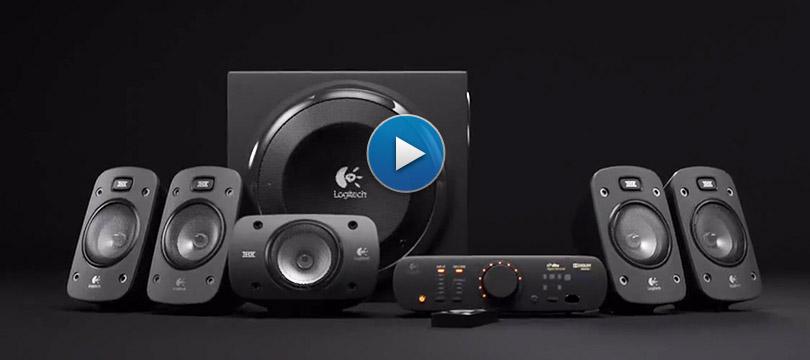 Speaker System Z906 Logitech
