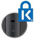 Connect security slot and Kensington logo