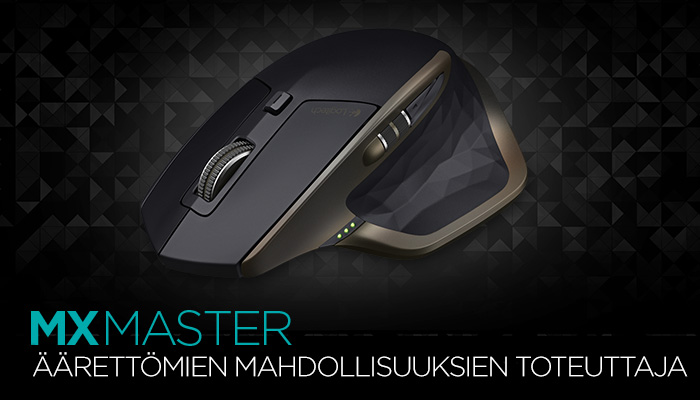 MX Master Wireless Mouse Finnish