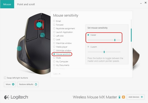 Set Mouse Sensitivity