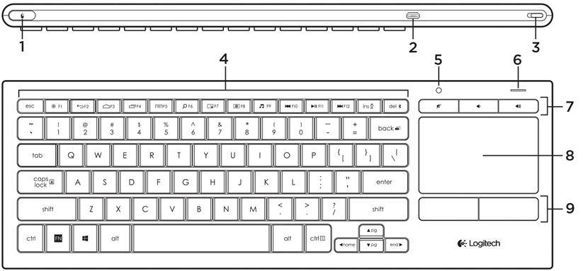 Illuminated Living-Room Keyboard K830 Setup Guide