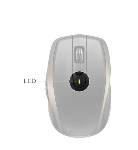 Logitech Anywhere 2 Wireless Mouse SETUP GUIDE