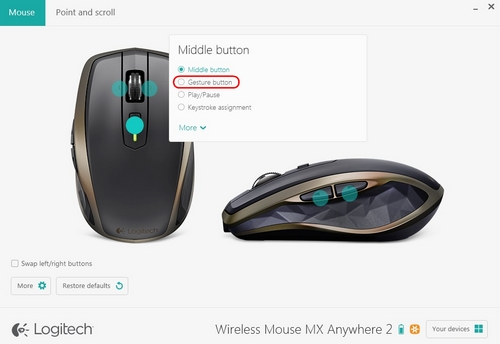 how to set right click to a different mouse button