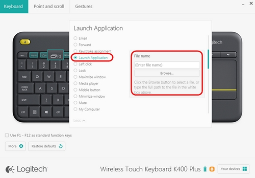 how to use function keys on logitech keyboard