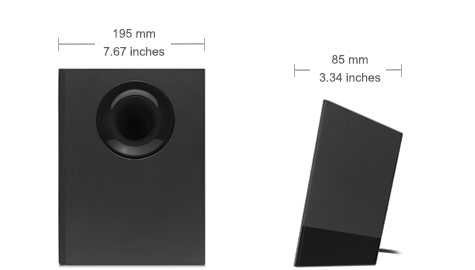 Z533-speakersysteem met subwoofer