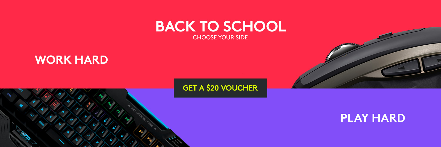 Get a $20 voucher from Back To School promotion