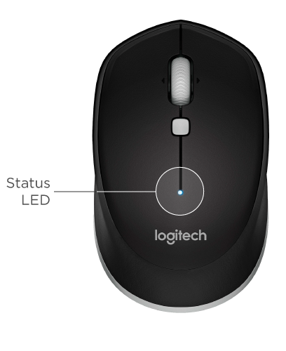 how to change battery in logitech wireless mouse m215