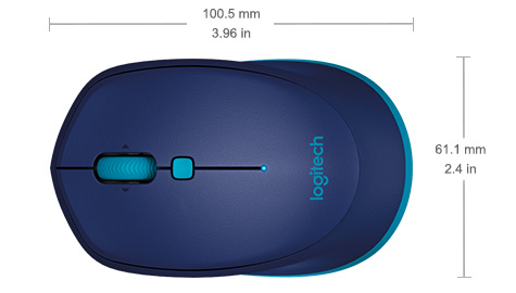 3dd229afe44 Logitech M535 Bluetooth Mouse for Windows, Mac Chrome OS and Android