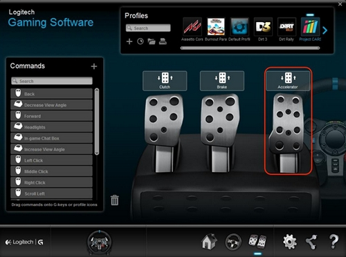 logitech launch gaming software profiler